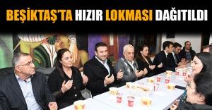 Beşiktaş'ta Hızır Lokması Dağıtıldı