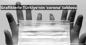 Grafiklerle Türkiye'nin 'corona' tablosu