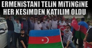 Ermenistanı Telin Mitingine Her Kesimden...