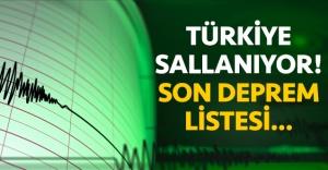 12 Ağustos Çarşamba son depremler listesi |Türkiye'de en son ne zaman ve nerede deprem oldu
