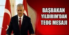Başbakan Yıldırım'dan TEOG mesajı