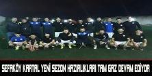 Sefaköy Kartal Yeni sezon hazırlıkları tam gaz devam ediyor
