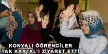 KONYALI ÖĞRENCİLER TAK KARTAL'I ZİYARET ETTİ