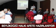 BEYLİKDÜZÜ HALKI AFETE HAZIRLANIYOR