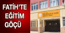 Fatih'te eğitim göçü