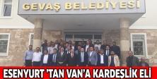 ESENYURT 'TAN VAN'A KARDEŞLİK ELİ