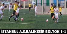 İSTANBUL A.Ş,BALIKESİR BOLTOK 1-1