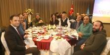 Başkan Karadeniz gazetecileri ağırladı