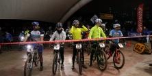 BO-CE-DAĞ Dağ Bisiklet Gece Yarışı yapıldı