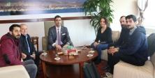 Milletvekili, Sendika Ve Federasyon Yöneticilerinden Başkan Gökhan Yüksel'e Ziyaret