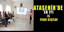 Ataşehir'de En İyi İş Fikri Seçildi