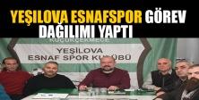 Yeşilova Esnafspor Görev Dağılımı Yaptı.