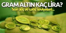 Gram altın kaç lira (TL)? 5 Ağustos Çarşamba gram, çeyrek, yarım ve cumhuriyet altını alış ve satış fiyatları