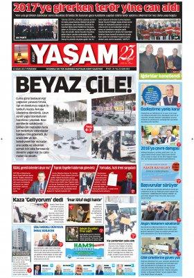 HABERDESİNİZ - 12.01.2017 Manşeti
