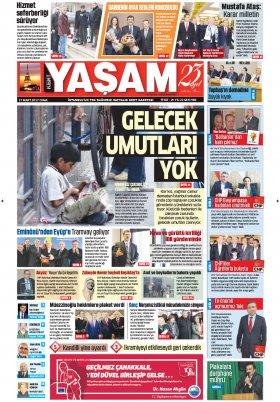 HABERDESİNİZ - 24.03.2017 Manşeti
