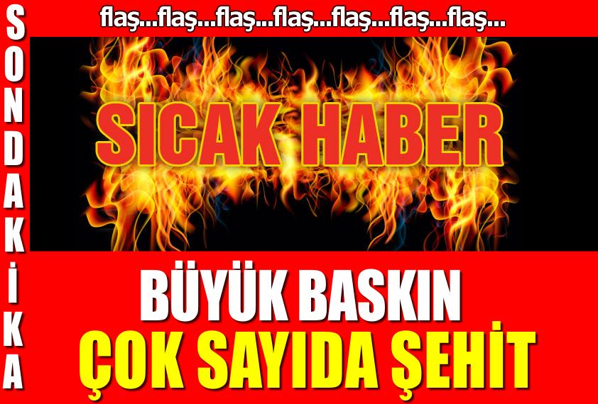 Son dakika... PKK Şırnak'ta saldırdı