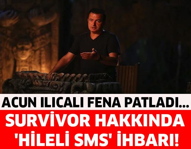 Acun Ilıcalı Fena Patladı... Survivor Hakkında 'Hileli SMS' İhbarı!