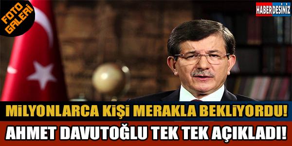 Başbakan Davutoğlu'ndan flaş açıklamalar...