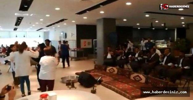 Adana Şehir Hastanesi'nde düzenlenen sıra gecesi sosyal medyada gündem oldu