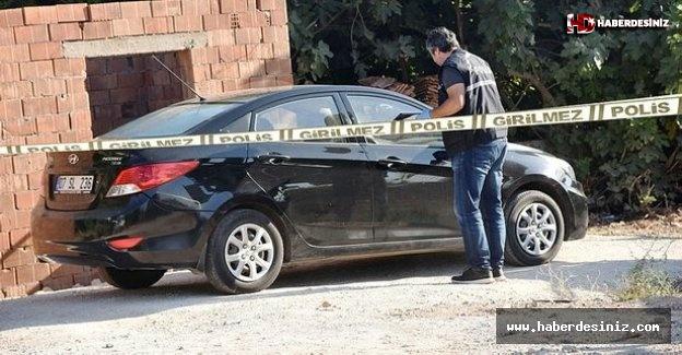 Antalya'da emekli astsubay otomobilinde ölü bulundu.