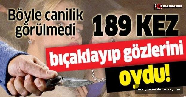 Böyle canilik görülmedi! Kız kardeşini 189 kez bıçaklayıp gözlerini oydu!.