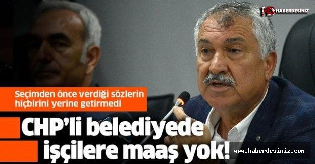 CHP'li Adana Büyükşehir Belediyesi'nde işçilerin maaşı ödenmiyor