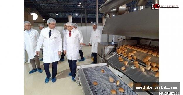 Ekrem İmamoğlu'ndan Sultangazi Halk Ekmek Fabrikası incelemesi