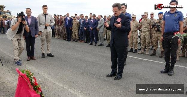 Iğdır'da 13 Şehit Polis Dualarla Anıldı.