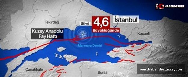 İstanbullular gece boyu artçı sarsıntılarla sallandı! Tam 26 artçı sarsıntı yaşandı