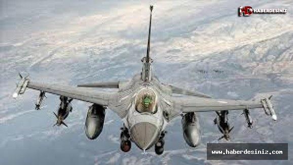 MSB duyurdu! F-16'lar Suriye hava sahasında!.