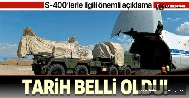 Savunma Sanayii Başkanı İsmail Demir S-400'ler için tarih verdi: Aralıkta kurulmuş olacak.