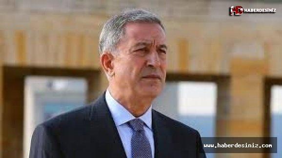 Bakan Akar'dan Barış Pınarı Harekatı açıklaması Mehmetçik'in morali çok yüksek.