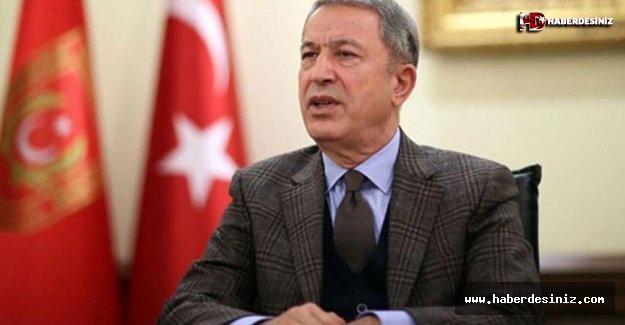 Bakan Akar: Terör örgütü, kimyasal silah kullanıp suçu TSK'ya atacak