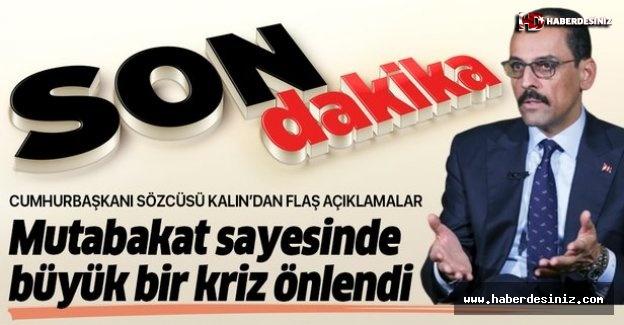 Cumhurbaşkanı Sözcüsü İbrahim Kalın'dan önemli açıklamalar.