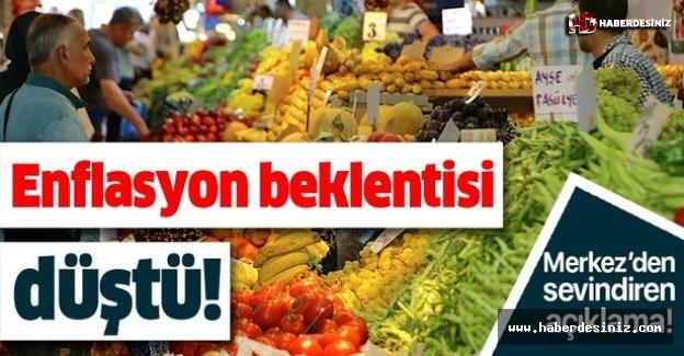 Merkez Bankası enflasyon beklentisini açıkladı!.