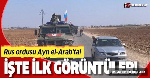 Rusya Ayn el-Ara (Kobani) girdi!.