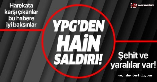 YPG'den Azez'e hain saldırı! Şehit ve yaralılar var!.