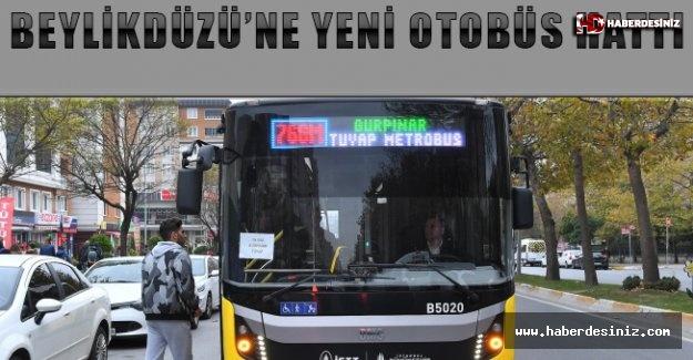 Beylikdüzü'ne yeni otobüs hattı