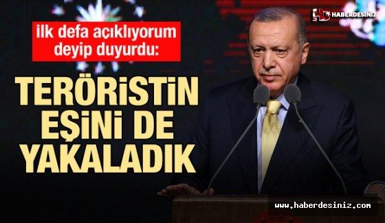 Erdoğan'dan Açıklama: Bağdadi'nin hanımını da yakaladık