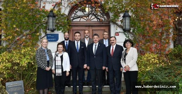 Akpolat'tan Boğaziçi Üniversitesi'ne Tebrik Ziyareti