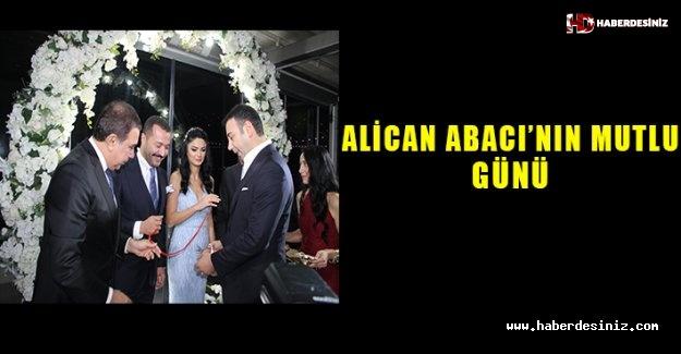 Alican Abacı'nın mutlu günü