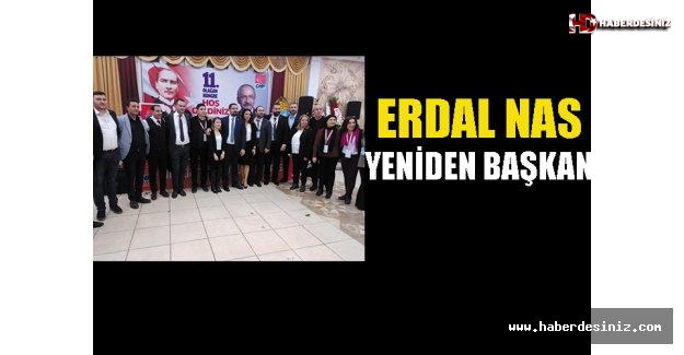 Erdal Nas yeniden başkan