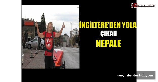 İngiltere'den Yola Çıkıp Nepal'e Yürüyen Aktivist
