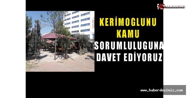 Kerimoğlu'nu kamu sorumluluğuna davet ediyoruz!