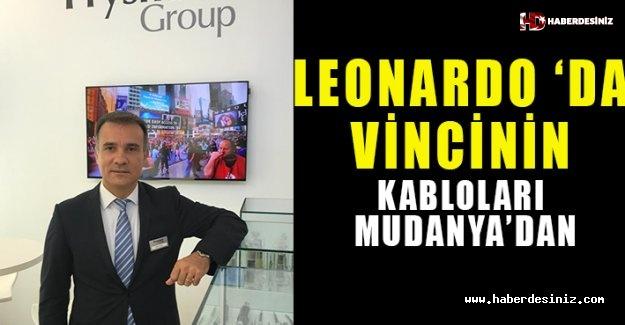 Leonardo da Vinci'nin  kabloları Mudanya'dan!