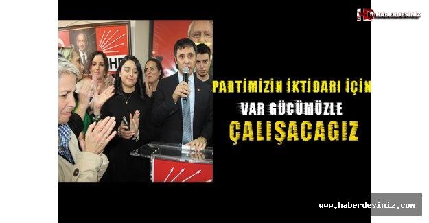 Mehmet Arslan; Partimizin iktidarı için var gücümüzle çalışacağız