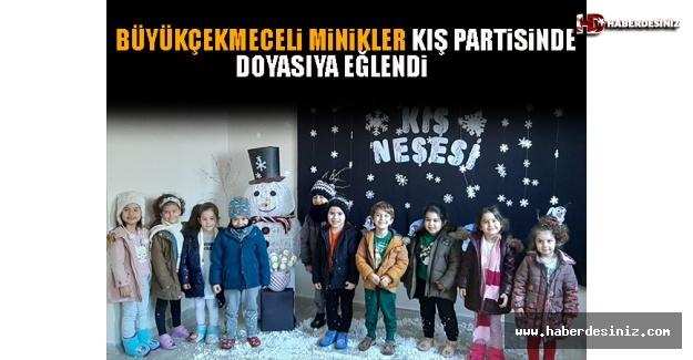 Büyükçekmeceli Minikler Kış Partisinde Doyasıya Eğlendi