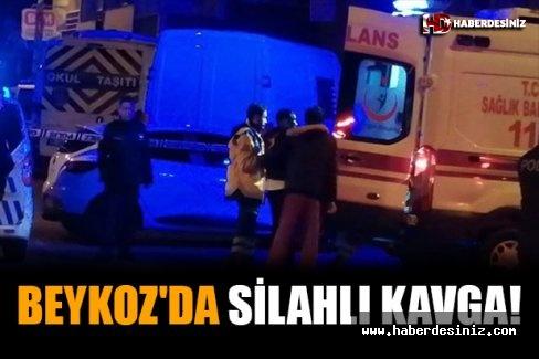 Beykoz'da Silahlı Kavga!