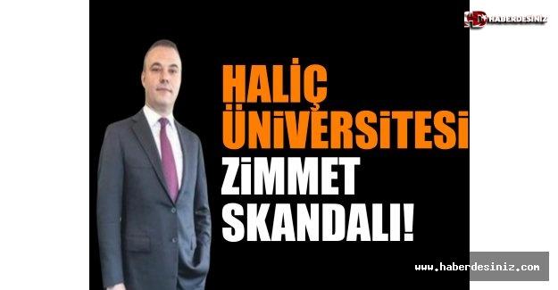 Haliç Üniversitesi'nde Zimmet Skandalı!.