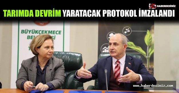 Tarımda Devrim Yaratacak Protokol İmzalandı